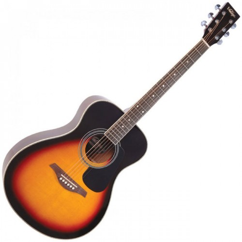 Akustična folk gitara Vintage V300VSB Sunburst