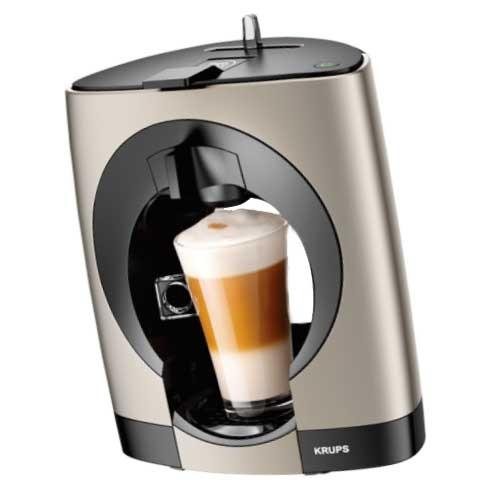 Aparat za kafu Krups Dolce Gusto Oblo titanium