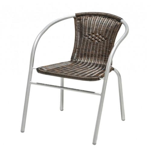 Baštenska stolica Borg Silver