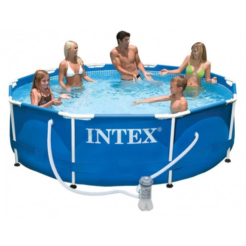 Bazen Intex Steel Frame 305x76cm sa filter pumpom