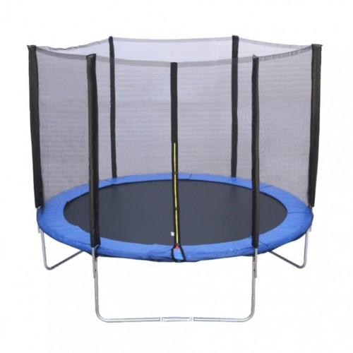 Trambolina 305 cm sa ogradom i mrežom bez merdevina