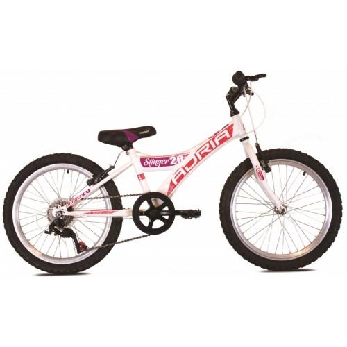 Bicikl Adria Stringer 2016 Bela i Pink