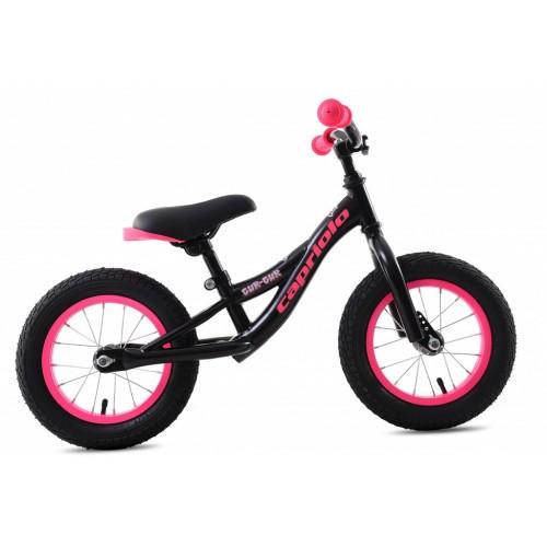 Bicikl za decu bez pedala Gur Gur pink i crna 2020