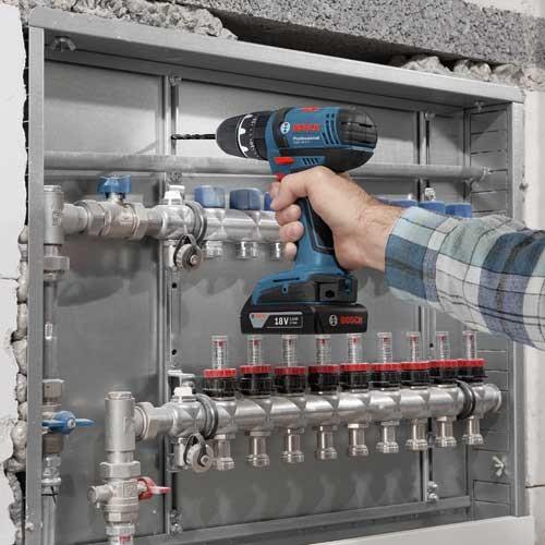 Akumulatorska vibraciona bušilica - odvrtač Bosch GSB 18-2-LI Professional