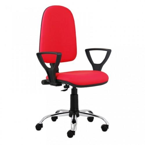 Daktilo stolica M 170 cp/hrom/pvc