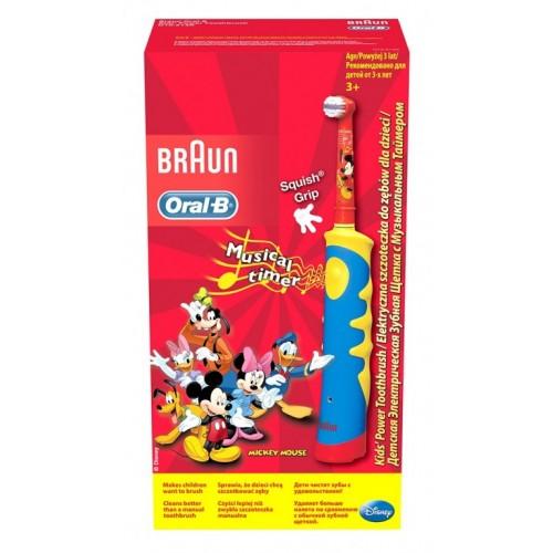 Dečija električna četkica za zube Oral B Mickey Mouse