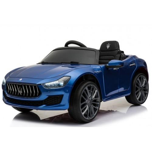 Dečiji automobil na akumulator licencirani Maserati GHIBLI 2018 plavi sa mekim gumama