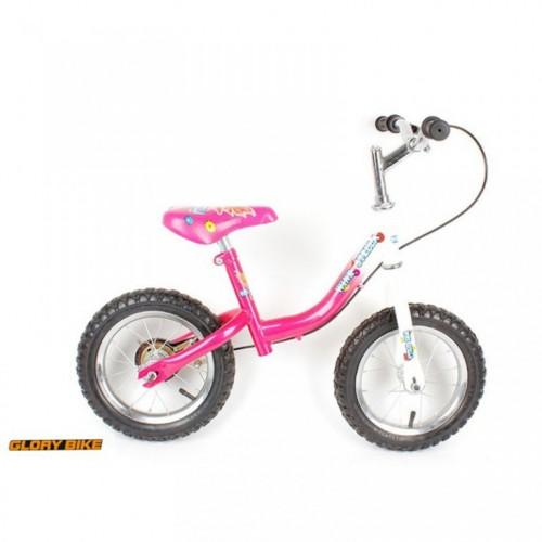 """Dečiji bicikl bez pedala Glory bike ciklama 12"""""""