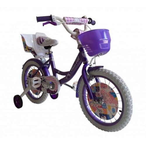 """Dečiji bicikl Miss Cat 16"""" ljubičasti"""
