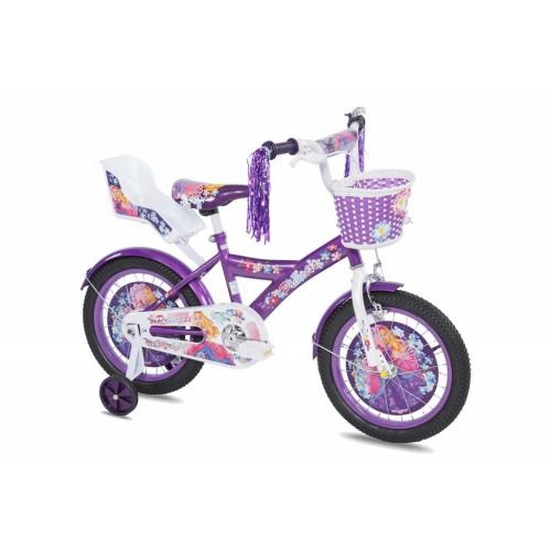Dečiji bicikl Princess 16in ljubičasto-beli