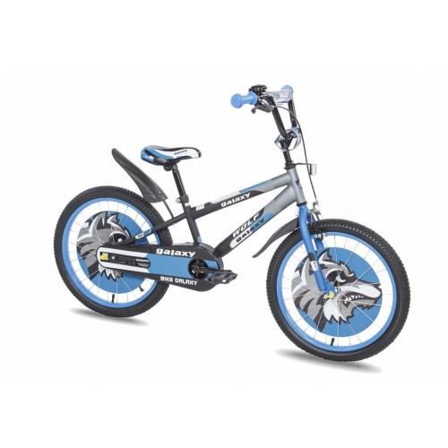 Dečiji bicikl Wolf 20in crna-siva-plava