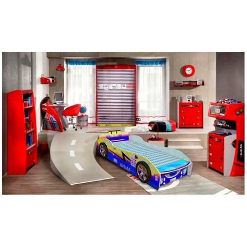 Krevet za decu Formula 88 plavi 160x80 cm model 802