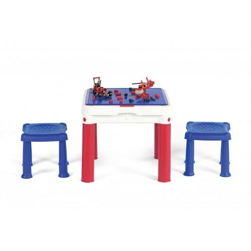Dečiji set Construct sto sa dve stolice