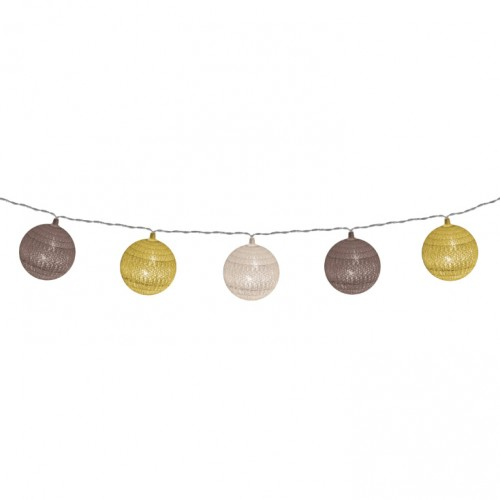 Dekorativni LED niz sa pamučnim kuglicama 1.8 m CBL11/B