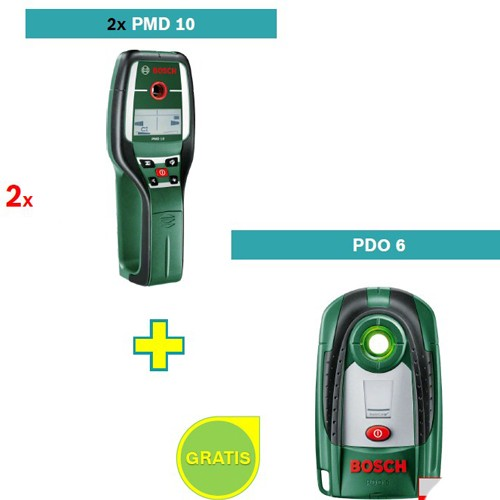 Detektor metala Bosch PMD 10 2 kom + Bosch PDO 6 detektor metala
