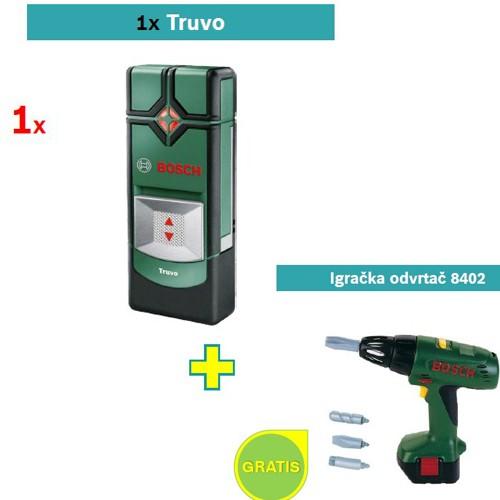 Detektor metala Bosch Truvo + Igračka odvrtač