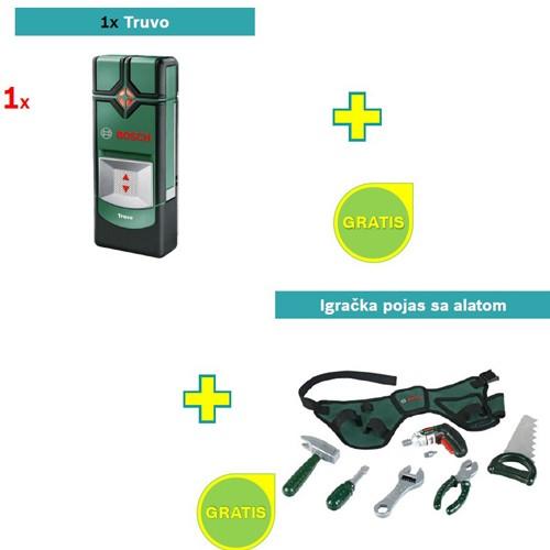 Detektor metala Bosch Truvo + Igračka pojas sa alatom