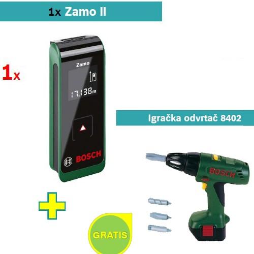Digitalni laserski daljinomer Zamo II + Igračka odvrtač 8402