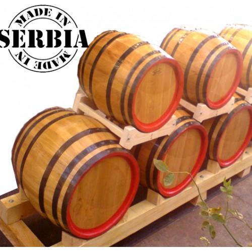 Drveno bure za rakiju, vinu 30l  - hrastovo
