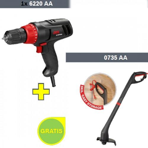 Električni odvijač Skil 6220 AA + Trimer sa strunomSkil0735 AA