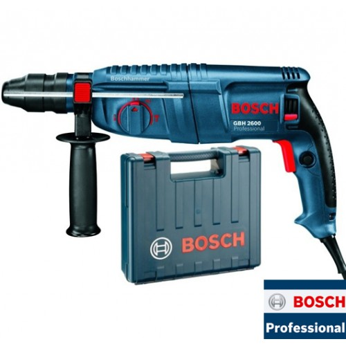 Elektro-pneumatski čekić za bušenje Bosch GBH 2600 Professional