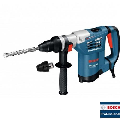Elektro-pneumatski čekić za bušenje Bosch GBH 4-32 DFR Professional - brzostezna glava