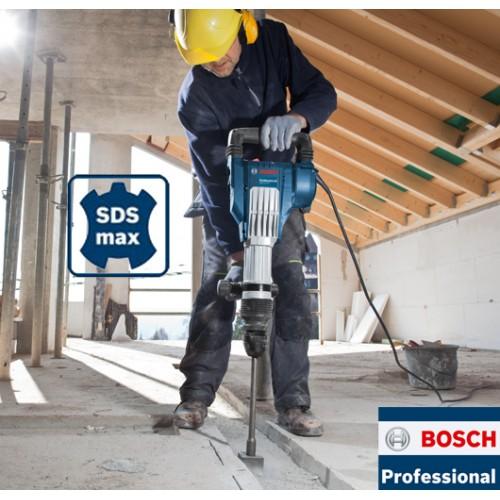 Elektro-pneumatski čekić za štemovanje Bosch GSH 11 VC Professional
