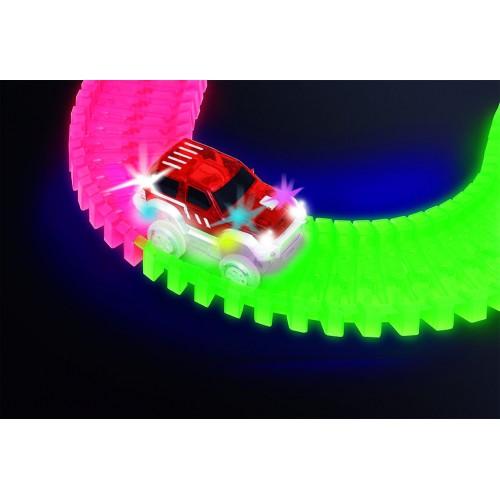 Fantastična auto staza svetleća