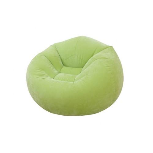 Stolica na naduvavanje INTEX zelena
