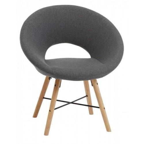 Fotelja Gray tamno siva