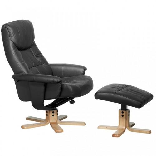 Fotelja Relax+ crna