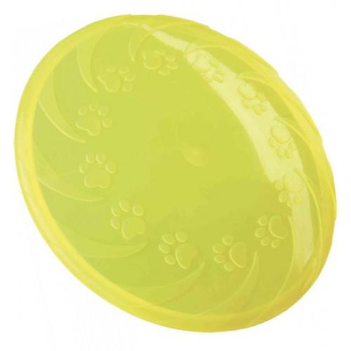 Frizbi od termoplastične gume 18 cm žuta