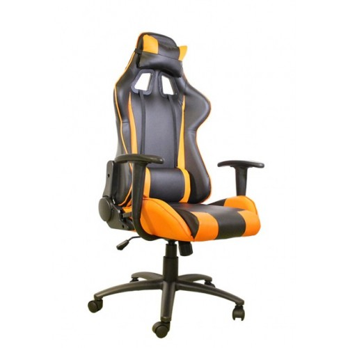 Gejmerska stolica e-Sport DS-042 Black/Orange