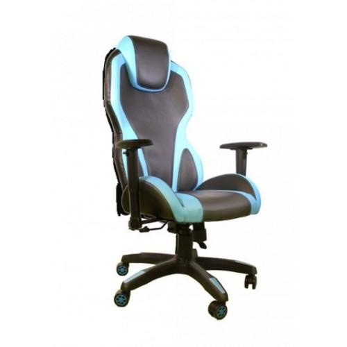 Gejmerska stolica e-Sport DS-059 Black/Blue