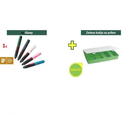 Olovka za lepak Bosch Gluey Evergreen + poklon