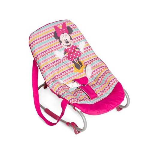 Ležaljka za bebe Hauck Rocky Minnie Geo roze