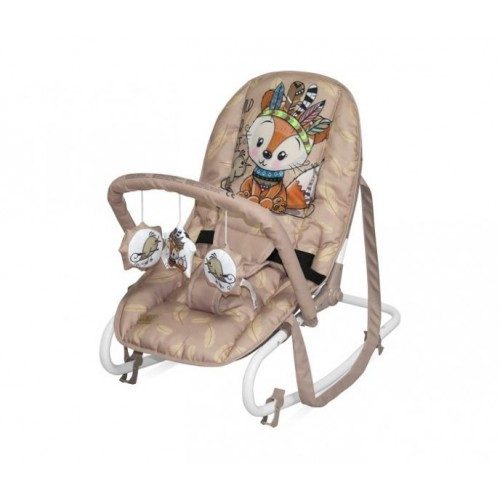 Ležaljka za bebe Beige Foxi