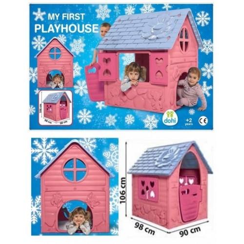Kućica za decu My first playhouse Roze