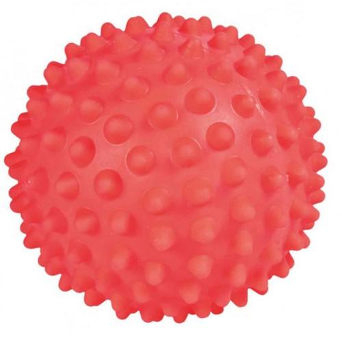 Ježasta loptica za pse 16 cm Crvena