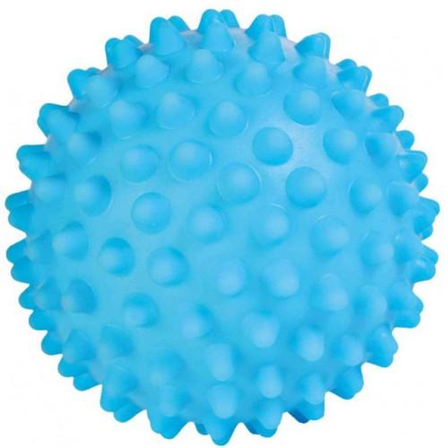 Ježasta loptica za pse 16 cm Plava