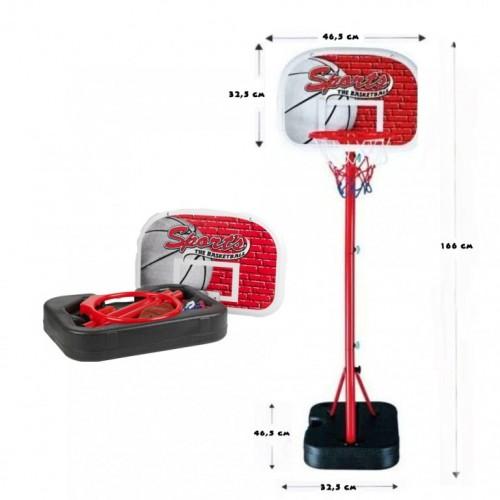 Mobilni kosarkaski set 166 cm