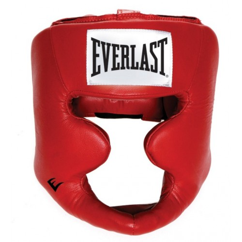 Kaciga za boks Everlast Full Protection crvena