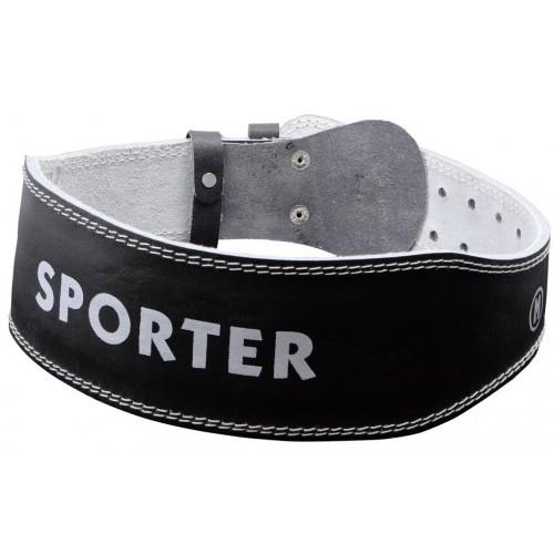 Kaiš za teretanu Sporter crni