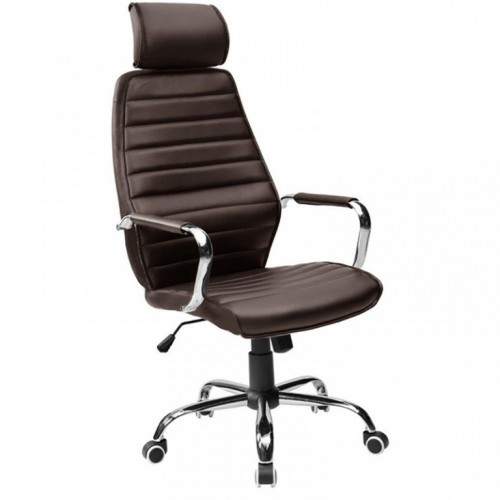 Kancelarijska fotelja 9341H braon