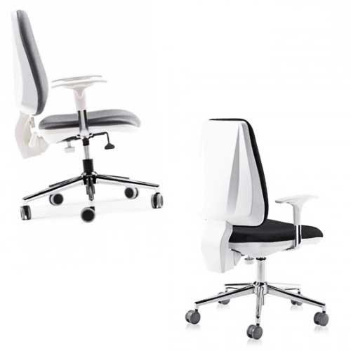 Kancelarijska stolica M 201 bela