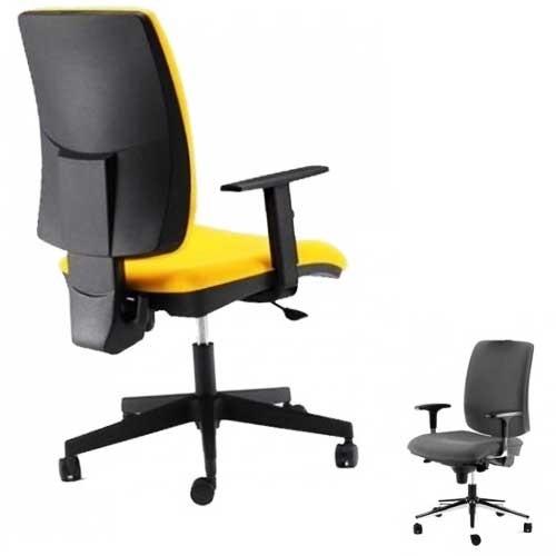 Kancelarijska stolica M 205 Yellow A pvc