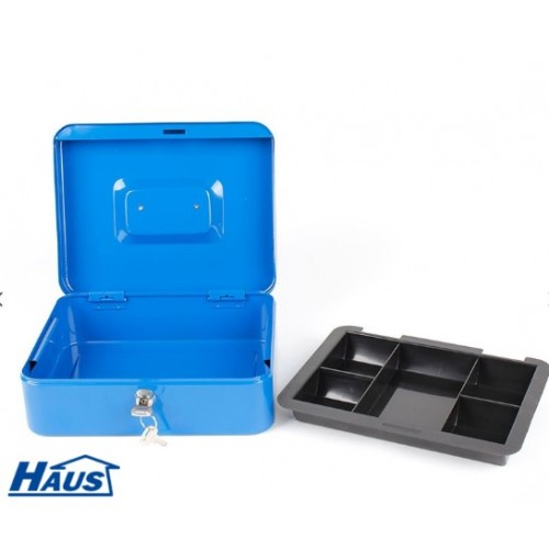 Kasa za novac Haus plava 250x200x90mm