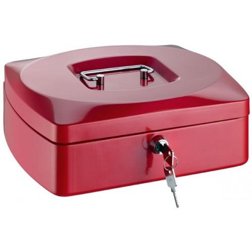 Kasa za novac Premium crvena 255 x 200 x 90 mm
