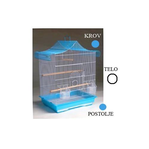 Kavez za ptice A4020 bela i plava