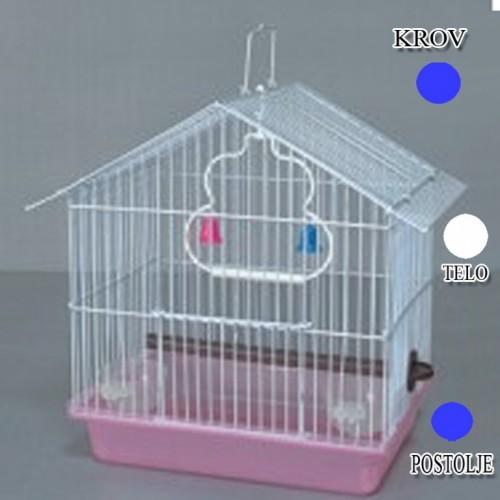 Kavez za ptice W033 plava i bela